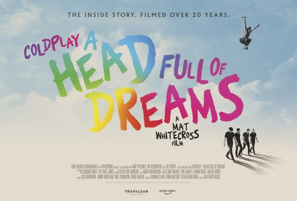 "Raksta attēls - Coldplay izziņo filmu ""A Head full of dreams"""
